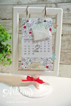 Cards and scrapping workshop bureaukalender 2017 stampin up