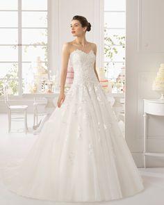 Aydin vestido de novia Aire Barcelona