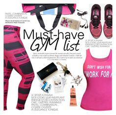 """""""Must-have GYM list"""" by punnky ❤ liked on Polyvore featuring Tommy Hilfiger, NIKE, H&M, Aesop, Casetify and Forever 21"""