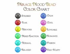 11 Best Mood Rings Images Mood Ring Color Chart Mood Ring Colors