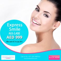 Looking for that perfect #smile? How about a smile makeover at #Lookswoow Dental Team? #Eid   http://lookswoow.com/specials/express-smile/?utm_content=buffer9d4af&utm_medium=social&utm_source=pinterest.com&utm_campaign=buffer