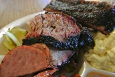 Plate from @TheBrisketHouse today with @HoustonFed was incredible. @HouBBQ #HouBBQ #TexasBBQ #Houston #BBQ @BBQsnob