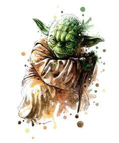 Star Wars Art on Behance Schultüte Star Wars, Theme Star Wars, Star Wars Fan Art, Star Wars Humor, Lego Star Wars, Fantasy Paintings, Watercolor Paintings, Star Citizen, Cuadros Star Wars