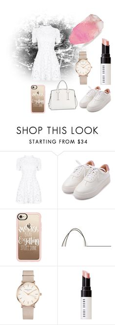 """White day"" by elsasolveig on Polyvore featuring Casetify, French Connection, ROSEFIELD, Bobbi Brown Cosmetics and SoapRocks"