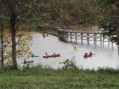 Kayaking on Stonewall Resort Lake