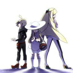 Gladion, Lillie, and Lusamine (Pokémon) Lusamine Pokemon, Pokemon Moon, Pokemon Games, Pikachu, Pokemon Stuff, Mudkip, Pokemon Eeveelutions, Fire Emblem, Pokemon Game Characters