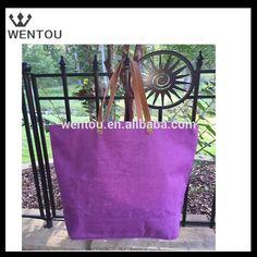 Wholesale monogram leather beach bag