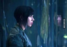 First look: Scarlett Johansson in Ghost in the Shell - 9GAG