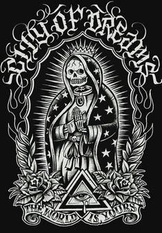 Dia De Los Muertos ☠ Santa Muerte ☠ ☠ DЇд De L 248 S ♏uert 248 S