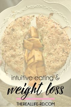 Intuitive Eating is the healthiest and most sustainable way to eat and the way to finding your body's natural set point and happy weight. | The Real Life RD