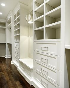 """Melissa Manzardo Hryszko on Instagram: """"Discussing closets with a client today and this one is still a favorite of mine from Elbow Park {10th}. Beautiful storage & lighting with a…"""""""
