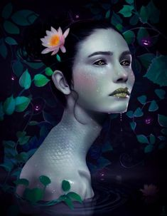 the woman lit by fireflies_by_Rob Shields600_772
