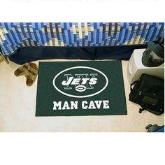 "New York Jets Man Cave Starter Area Rug Floor Mat - 20"" X 30"""