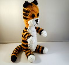 Ravelry: Hobbes the plush tiger pattern by Lottie's Creations - Dear Heavens, I want!!!