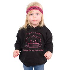 Cupcake Toddler Hoodie now featured on Fab.