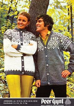 The Rondane kofte cardigan free vintage pattern – Norwegian Knit