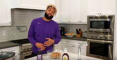 New York Giants receiver Odell Beckham Jr. will be heating things up in the kitchen on Super Bowl Sunday. Are you hungry for the Super Bowl on Sunday? Even though the New York Giants aren't playing in the NFL's marquee event, Giants receiver Odell Beckham Jr. will be busy...