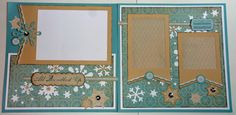 layout by Becky Lehman using CTMH Frosted paper