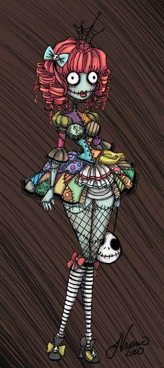 Lolita Sally. She looks like a marionette