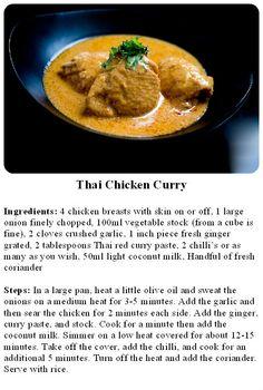 Daniel Green's Thai Chicken Curry