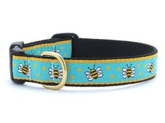 Bee Dog Collar with Quick Release Buckle  Medium 1218 Inches  58 In Width -- Find out more about the great product at the image link.Note:It is affiliate link to Amazon.