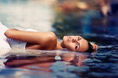 Portrait in water