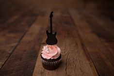 Guitar Cupcake Toppers (12 Pieces) {COLOURS CUSTOMIZABLE} - Musical Party, Guitar Party, Cupcake Decor, Photo Props, Birthday Party by CutPartySupplies on Etsy Guitar Cupcakes, Guitar Party, 12 Cupcakes, 50th Birthday, Cupcake Toppers, Photo Props, Party Supplies, Card Stock, Musicals