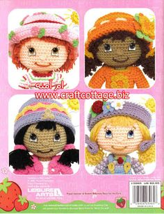 Back of Strawberry Shortcake Doll Book