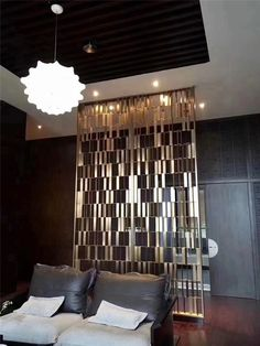 #interiordesign #lasercut #metalscreen #metal #stainlesssteel Stainless Steel, Metal, Decor, Interior Design, Metal Screen, Home, Interior, Decorative Sheets, Home Decor