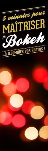 5 minutes pour maîtriser le Bokeh et illuminer vos photos !  À lire sur www.tontonphoto.fr/2012/12/21/5-minutes-maitriser-bokeh/#utm_source=reseaux-sociaux_medium=pinterest_content=bokeh