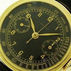 LONGINES CHRONOGRAPH 13ZN 1937y 14KYG