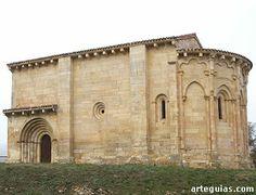 Ermita de La Concepción de San Vicentejo de Treviño, desde el sur