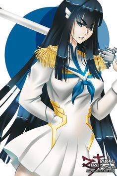 Satsuki by ZeroJigoku on DeviantArt Satsuki Kiryuin, Kill La Kill, Artist Names, Portfolio Design, How Are You Feeling, Fan Art, Deviantart, Artwork, Anime