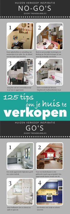 125 handige tips om je huis beter te verkopen. Kijk snel!   http://trendbubbles.nl/125-tips-om-je-huis-beter-te-verkopen/