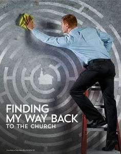Read one young man's journey as he decides to come back to church: www.lds.org/new-era/2014/06/finding-my-way-back-to-the-church  #lds #mormon