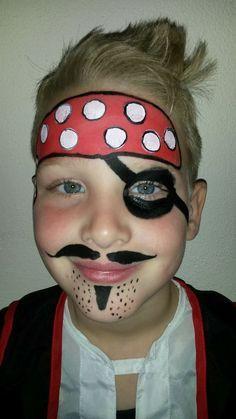 Piraat #piraat #piraten #schmink