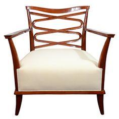 Fine Armchair by Art Deco Master  Léon Bouchet