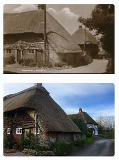 Cottage round the Loop then and now