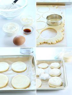 Soft Gluten Free Cream Cheese Cutout Sugar Cookies, Step by Step