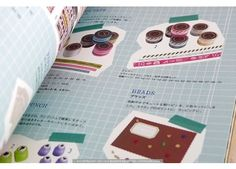 use same color to tape photos  Scrapbooking with Japanese Washi Tape Book