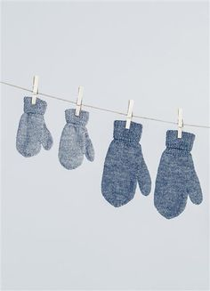 Tema 42: Modell 5 votter barn #strikk #knit #alpakka