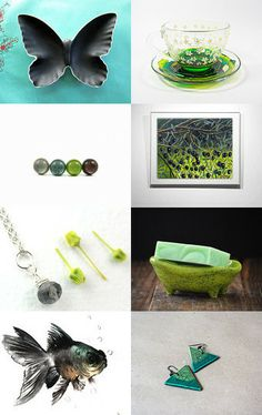 Summergreen by Patrice on Etsy--Pinned with TreasuryPin.com