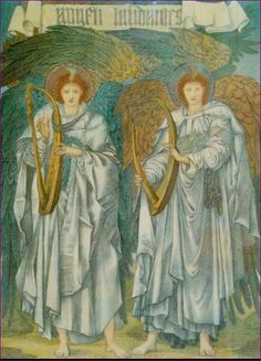 Edward Burne-Jones - Angeli Laudantes
