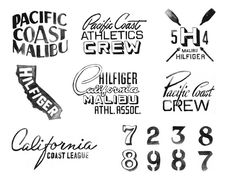 Hilfiger Sportswear by Glenn Wolk, via Behance