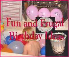 Fun and Frugal Birthday Ideas - Cornerstone Confessions