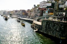 Ribeira from the lower deck of the Luís I Bridge, Porto, Portugal by Gail Edwin Aguiar photographer . traveller . volunteer . aviation enthusiast http://gailatlarge.com