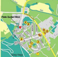 Platán Idősek Otthona, Ápolási Intézet Map, Location Map, Maps