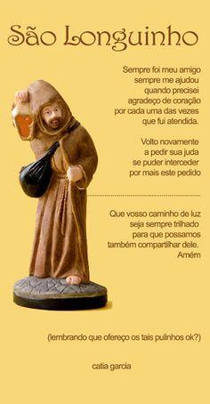 Profª Alba Lucena: Oração a São Longuinho