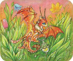 Firefly dragon by AlviaAlcedo.deviantart.com on @deviantART