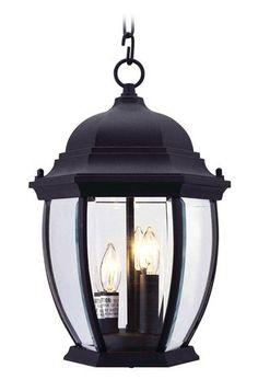 Livex Lighting 7539-04 Kingston Outdoor Chain Hang in Black